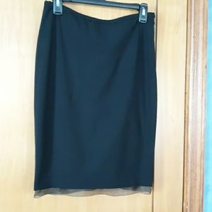 The Limited stretch black skirt
